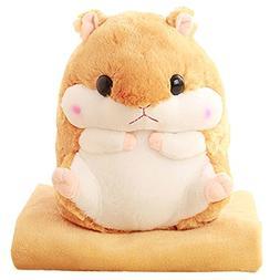 Alpacasso 3 In 1 Cute Hamster Plush Stuffed Animal Toys Thr