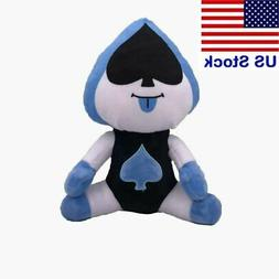 10'' Deltarune Undertale Lancer Plush Figure Toy Soft Stuffe
