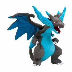 "10"" Mega Charizard X Pokemon Plush Doll Figure Toy Gift"