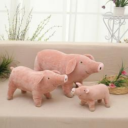 10'' Pig Plush Stuffed Toy Animal Doll Toys For Kids Baby Ch