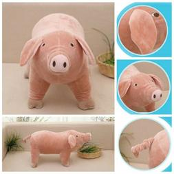 "10"" Plush Toy Piggy Pig Cartoon Accompany Sleeping Stuffed A"