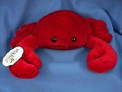 "Wishpets 10"" Red Crab Plush Toy"