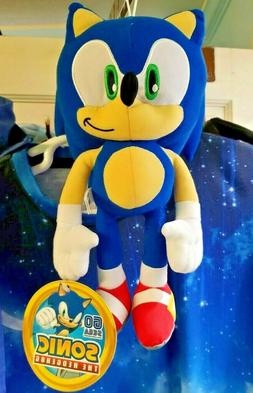 "11""-12"" Sonic the Hedgehog Plush NWT Stuffed Animal, Toy Fac"