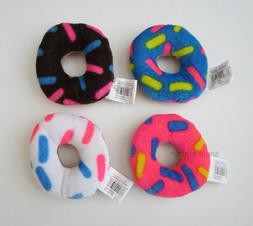 12 Donut Plush Stuffed Toys Sweets Kid Party Goody Loot Bag
