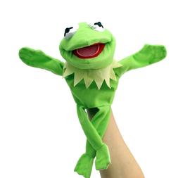 """12"""" Green Doll Hand Muppets Most Wanted Show Kermit the Frog"""