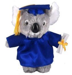"12"" Plush Koala in PERSONALIZED Graduation Outfit Plush Toys"