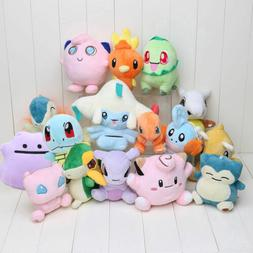 13-20cm Rare Pokemon Collectible Plush Character Soft Toy St