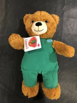 "Kohls Cares 14"" Corduroy Bear Brown Plush Teddy Stuffed Anim"