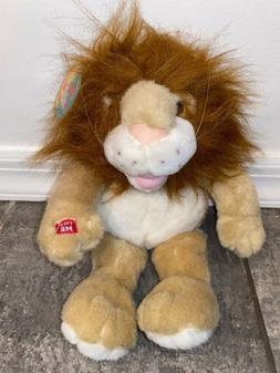 """14"""" PBC LION PLUSH DOLL STUFFED ANIMAL DOLL ROARING TALKIN"""