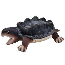 "Wild Republic 16"" Snapping Turtle Living Stream Plush Stuffe"