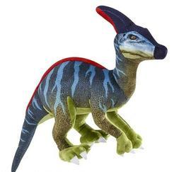 "19"" Parasaurolophus Printed Dinosaur Plush Stuffed Animal Ju"
