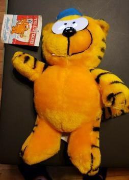 1988 heathcliff the slugger cat 10 plush
