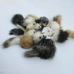 1PC Size 8CM Approx. , <font><b>Plush</b></font> Long hair l
