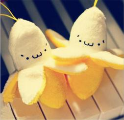 1Pcs Kid Super Cute Banana 7CM Kawaii <font><b>Toys</b></fon