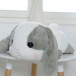 UBeauty 20'' Cute Rabbit Plush Toys Lop Rabbit Doll Pillow