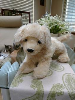 "FAO Schwarz 20"" Golden Retriever Plush Dog Toy Excellent T"