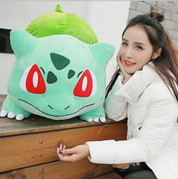 """20"""" JUMBO BULBASAUR Pokemon Center Nintendo Plush Toy Game D"""