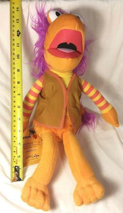 "2017 16"" Jim Henson's Fraggle Rock Gobo Plush Toy Factory NW"