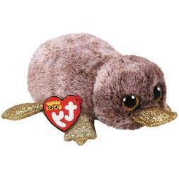 "2018 Ty Beanie Boos 6"" PERRY Brown Platypus Stuffed Animal P"
