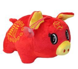 2019 Chinese New Year Fat Pig Plush Stuffed Animal Toy Decor