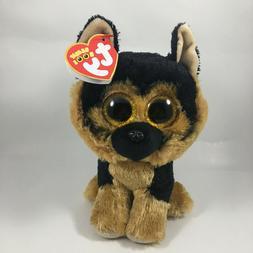 "2020 TY Beanie Boos 6"" SPIRIT German Shepherd Dog Stuffed An"