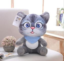 20cm 3D <font><b>Cat</b></font> Toys Kawaii Animal <font><b>