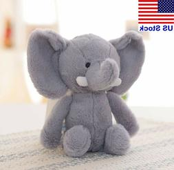 20cm Cute Elephant Plush Toy Soft Stuffed Elephant Animal Do