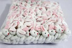 20pcs Bulk Mini Rabbit Bunny Plush Toy Dolls Stuffed Wedding