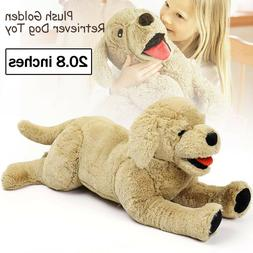 20.8'' Plush Dog Puppy Stuffed Animal Soft Golden Pillow Toy