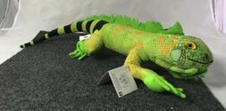 "Conservation Critters 23"" Iguana Plush Stuffed Animal Toy"