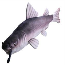 "Wild Republic 24"" Living Stream Catfish Fish Plush Stuffed A"