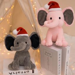 25cm Plush Elephant Toy Kids Christmas Toys <font><b>Bedtime