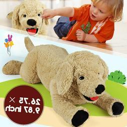 27'' Large Plush Dog Stuffed Animals Toys Baby Kids Child Gi