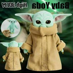 30CM Baby Yoda Plush Toy The Mandalorian Cute Stuffed Doll K