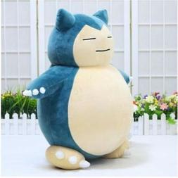 30cm Jumbo SNORLAX Pokemon Center Kabigon Plush Toy Soft Dol