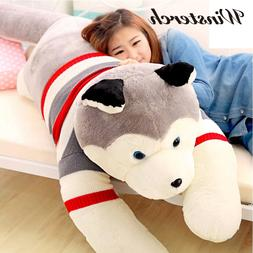 40/50cm Cute <font><b>Plush</b></font> Stuffed Husky Dog Ani
