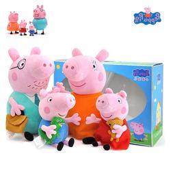 4Pcs/set Peppa <font><b>Pig</b></font> <font><b>Plush</b></f