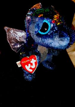 """TY 6"""" Flippables """"KATE"""" Dragon-Limited Ed - Beanie Boos - Se"""