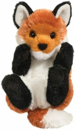 6 Inch Lil Handful Red Fox Plush Stuffed Animal by Douglas
