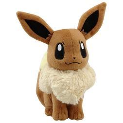 "6"" Pokemon Eevee Pocket Monster Large Plush Toy Stuffed Doll"
