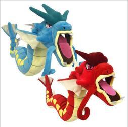 """60cm 23"""" Gyarados Plush Toy Blue Gyarados Dragon Stuffed Dol"""