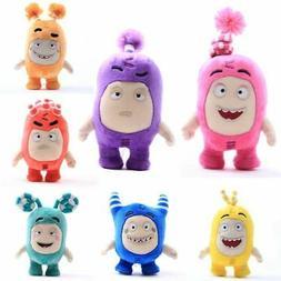 7 Colors Anime Oddbods Plush Toy Soft Stuffed Doll Kid Birth