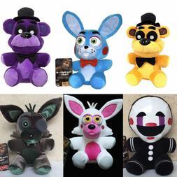 "7"" FNAF Five Nights at Freddy's Sanshee Plushie Toy Plush Be"