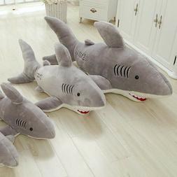 70cm Shark Shaped Plush Toys Doll Pillow Cushion Stuffed Ani