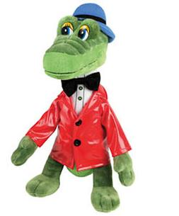"8.4"" Russian Talking Green Crocodile Plush Stuffed Toy Gena"