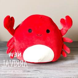 Kellytoy 8 inch Squishmallow Crab NEW RARE Collection. Free