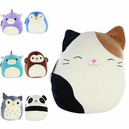 "8"" INCHES KELLYTOY SQUISHMALLOWS SUPER SOFT PLUSH TOY ANIMAL"