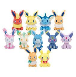 """8"""" Pokemon Jolteon Flareon Glaceon Umbreon Espeon Sylveon Pl"""