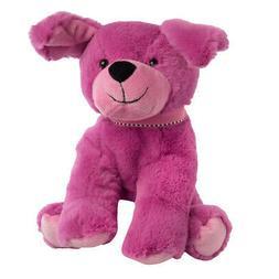 "Gitzy 8"" Pink Puppy Stuffed Animal Plush Toy Super Soft Cu"