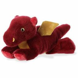 """8"""" Aurora World Mini Flopsie Plush - Ember Dragon"""